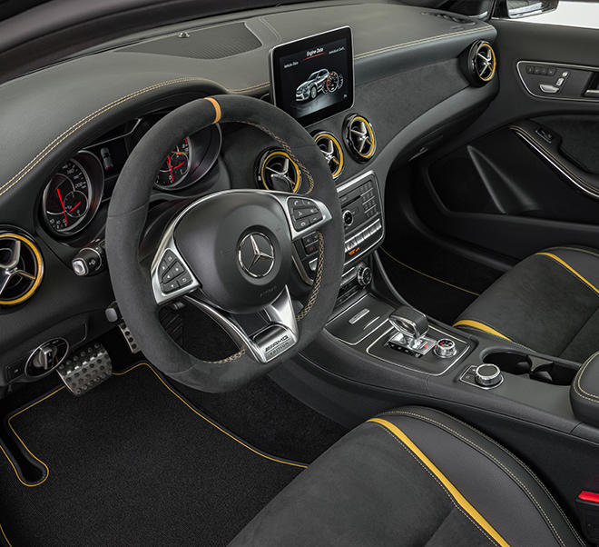 2018 Mercedes Amg Gla 45 4matic Color Cirrus White: Mercedes-Benz AMG GLA 45 4MATIC Yellow Night Edition, X156
