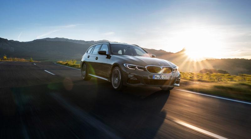 Nové BMW 3 Touring – Dynamický dizajn a výrazne viac radosti z jazdy