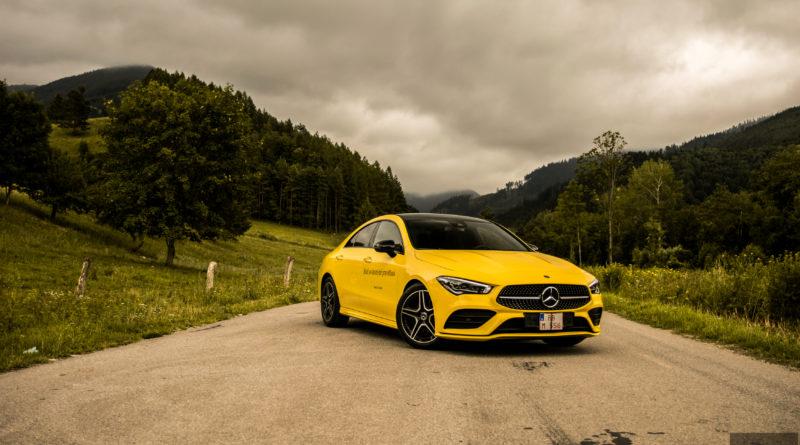 TEST: Mercedes-Benz CLA 180d – ,,Baby,, CLS ako nebojácny Bumblebee